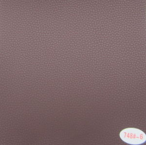 Professional Supplier of PVC Leather for Car Seat Cover (748#) pictures & photos