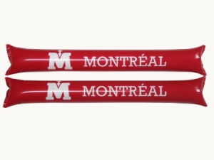 Promotional Printed Inflatable Cheering Thunder Sticks pictures & photos