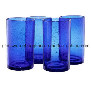 Set of 4PCS of Cobalt Blue High Ball Glass (B-C021) pictures & photos