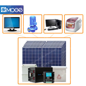Moge 3000W Solar Panel System Battery for Sale pictures & photos