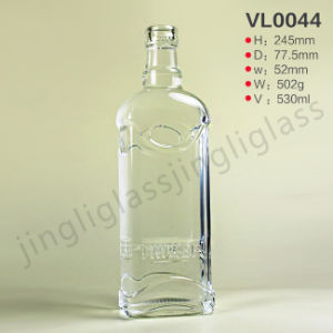 New Vodka Bottle / Gin Glass Botte 500 Ml pictures & photos