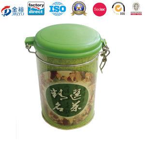 Round Airtight Tea Package Tin pictures & photos