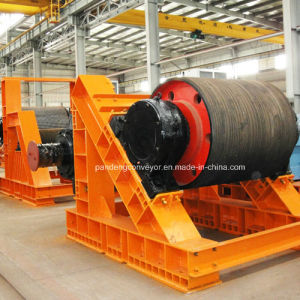 Rubber Casting Drive Conveyor Pulley for Belt Conveyor pictures & photos