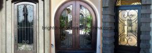Modern Wrought Iron Decorative Exterior Door Gates pictures & photos