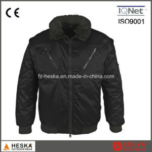 Mens 3 in 1 Safety Wear Workwear Pilot Jacket Winter Bomber Jacket pictures & photos