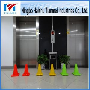 30 Cm Height Yellow PVC Road Safety Cone, Traffic Cone pictures & photos