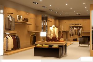 Garment Rack High End Clothing Store Fixture Manufacturer China pictures & photos