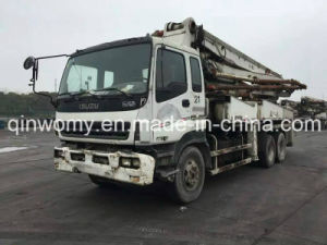 37m Used 8*4-LHD-Drive Original-White 2007 Sany Pump Isuzu Chassis Truck pictures & photos