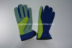 PVC Dotted Glove-Dotted Glove-Garden Glove-Cheap Glove pictures & photos