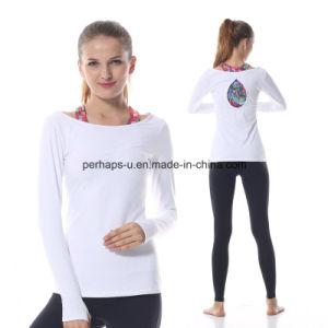 High Quality Fashion Yoga Clothing with Long Sleeves pictures & photos