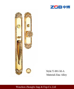 on Sale Villa Door Lock with Zinc Alloy (Y-881-M-A)
