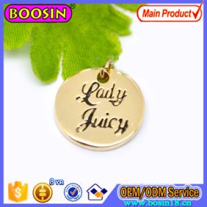 Wholesale Customized Logo Jewelry Tag Metal Logo Charm pictures & photos