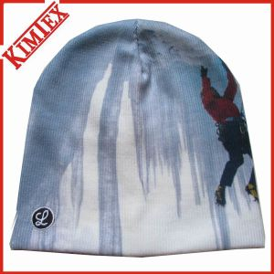 Cuffless Beanie Sublimation Printing Knitted Cap pictures & photos