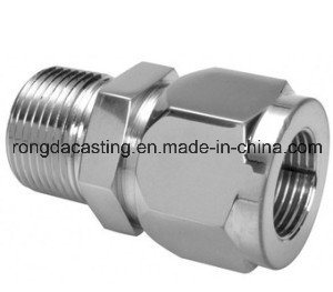 Pipe Fitting Part, Precision Stainless Steel Casting