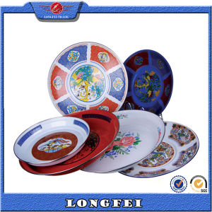 Various Type Fashion Enamel Decorative Color Plate pictures & photos