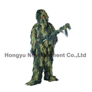 Professional Grade Sniper Simulation Camouflage Ghillie Suit for Hunting (HY-C001) pictures & photos