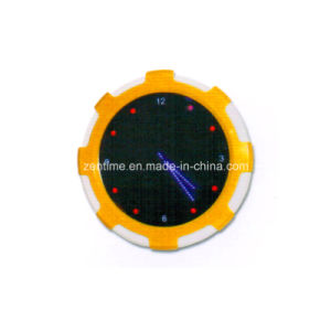 Electric Circle LED Analog Wall Decorative Time Clock pictures & photos