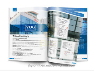 High Qaulity Cheap Full Color Catalogue Printing Service (jhy-005)