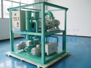 Double Stage Roots Rotary Vane Vacuum Pump Set with Weather Proof, to Attain High Vacuum for The Transformers Maintenace pictures & photos