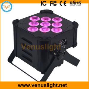 DMX Wireless&Battery, 9 PCS 5in1 LEDs, Party Light