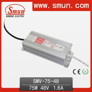 75W 48V 1.6A Waterproof LED Driver Switching Power Supply IP67 pictures & photos
