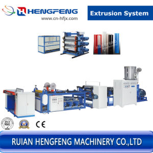 Plastic Sheet Extruder (HFSJ100-700A) pictures & photos