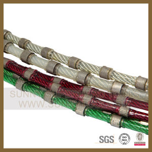 Diamond Wire Saw for Stone Block Cutting pictures & photos