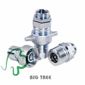 Hydraulic Quick Coupling Quick Coupler with Screw Thread pictures & photos