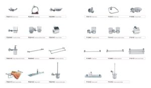 Wall Mounted Bathroom Accessory Set pictures & photos