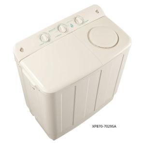 7.0kg Twin-Tub Top-Loading Washing Machine for Qishuai Model XPB70-7029SA pictures & photos