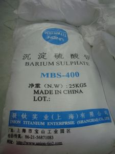 Good Quality Prectpitated (Mbs-400) Barium Sulphate pictures & photos
