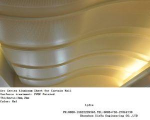 Arc Series PVDF Painted Aluminum/Aluminium Panel for Ceiling