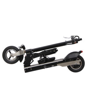 Electric Battery Powered Foldable Bike with Two Seats pictures & photos
