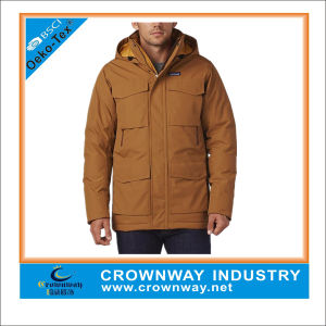 Cheap Mens Winter Parka Jackets with 7 Functional Pockets pictures & photos