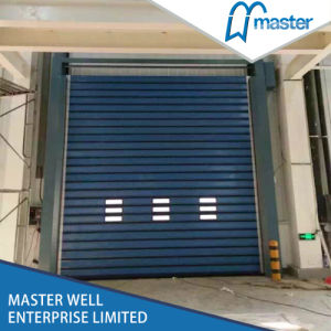 Windproof Zipper Type High Speed Roller Doors with Radar pictures & photos