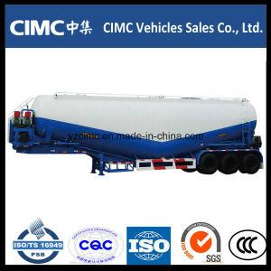 Cimc 3 Axle 45m3 Bulk Cement Tank Semi Trailer pictures & photos