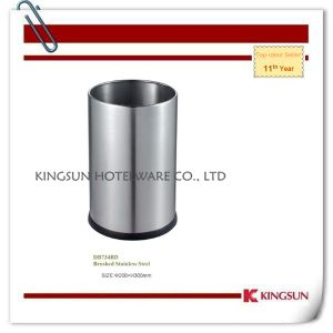 Metal Bathroom Waste Basket Without Top Cover Db-734bd pictures & photos