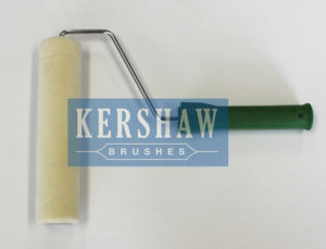 015 Paint Roller (Creamy White With Long Plastic Atrovirens Handle) pictures & photos