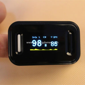 Ce FDA Certificate OLED with Alarm Fingertip Pulse Oximeter pictures & photos