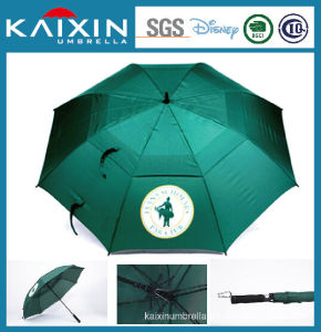 Auto Open Straight Umbrella with Fiber Glass Ribs 30′′*8k pictures & photos