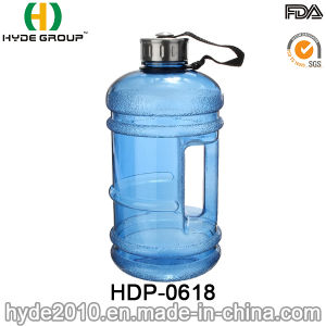 2.2L BPA Free PETG Plastic Water Bottle with Handle, 1.89L Customized Big Plastic Water Bottle (HDP-0618) pictures & photos