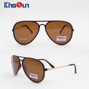 Tr Sunglasses with Metal Temple & Polarized Lens Ks1139 pictures & photos