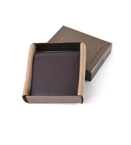 2016 New Fashion Custom Gift Men′s Genuine Leather Wallet
