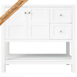 Wholesale Customized Solid Wood Bathroom Vanity pictures & photos