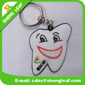 Wholesale Supply Custom Rubber Soft PVC Key Chain (SLF-KC095) pictures & photos