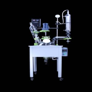 Multi-Function Reactor/Single Layer Glass Reactor with Heating Bath and Chiller (HB-10L) pictures & photos
