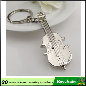 Fashion Colorful Guitar Shape Keychain for Gift pictures & photos