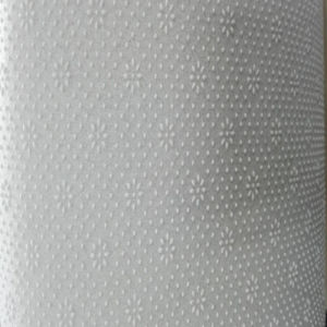White Polyester Needdle Punched Non Woven Carpet Underlay Felt Pad