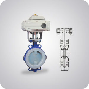 Lined Butterfly Valve China Supplier pictures & photos