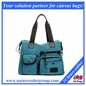 OEM Canvas Lady Handbag pictures & photos